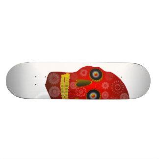 Gear Skull Skateboard