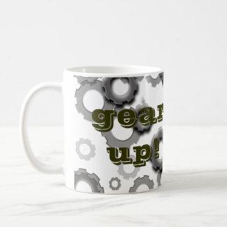 Gear Up! Basic White Mug