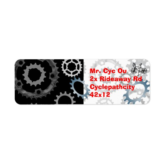 Gear Up Return Address Label