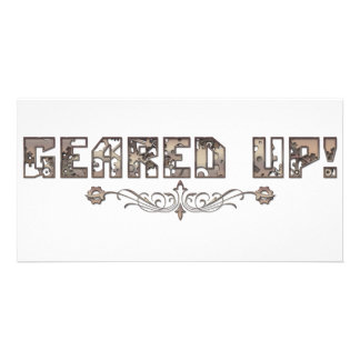 Geared up cards photo cards