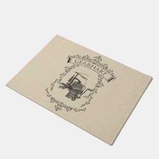 Gearhart - Antique Circular Sockknittingmachine Doormat