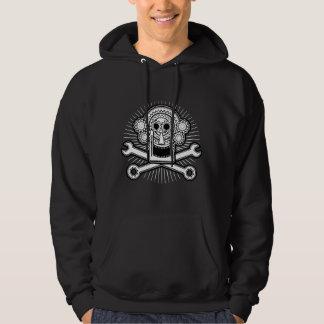Gearhead -bw hoodie