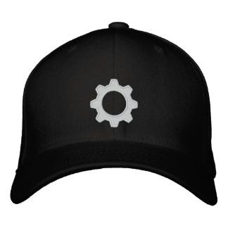 Gearhead Fitted Embroidered Hat