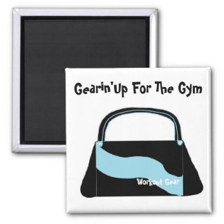 Gearing Up For The Gym Magnet