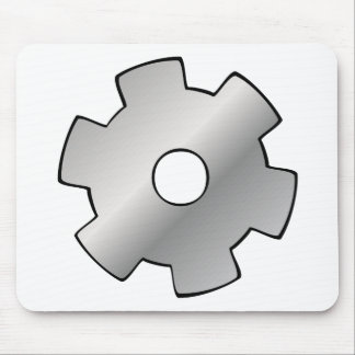 Gears and Wires logo Mouse Pad