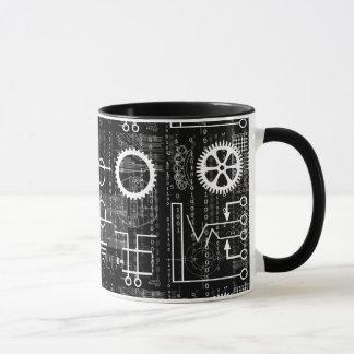 Gears Galore Tech Inspired Coffee Mug