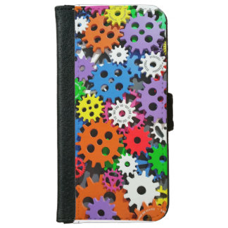 Gears,gears and more gears. iPhone 6 wallet case