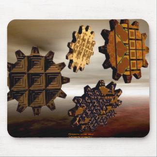 Gears, Graphics by DBarnhart Mouse Pad