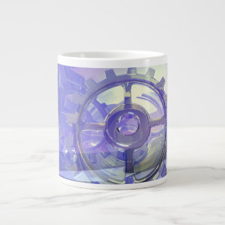Gears 20 Oz Large Ceramic Coffee Mug