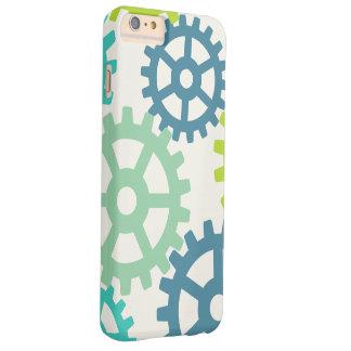 Gears Pattern iPhone 6/6s Plus Case