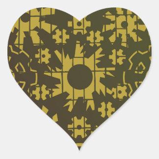 Gears SP1 Heart Sticker
