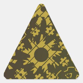 Gears SP1 Triangle Sticker