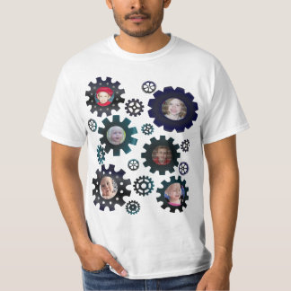 Gears & Sprockets 6 Photoframe T-shirt