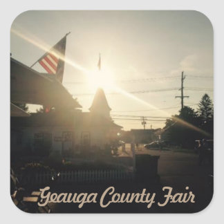 Geauga County Fair, Ohio Sticker