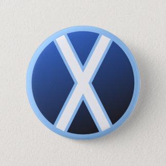 Gebo Gyfu Rune 6 Cm Round Badge