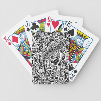 Gecko and pebbles bicycle playing cards