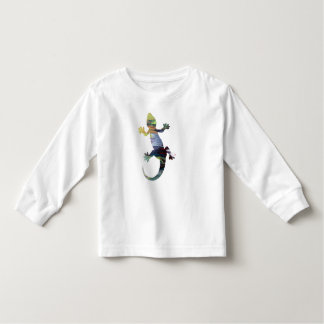 Gecko art toddler T-Shirt