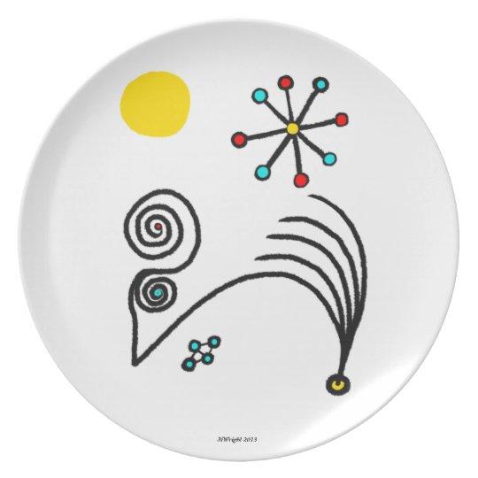 Gecko Decorative Plate