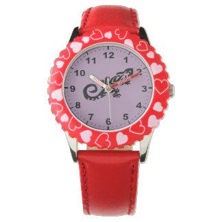 Gecko design wrist watches