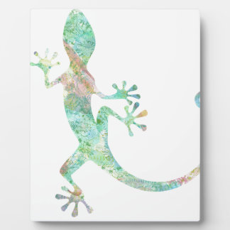 Gecko Display Plaques