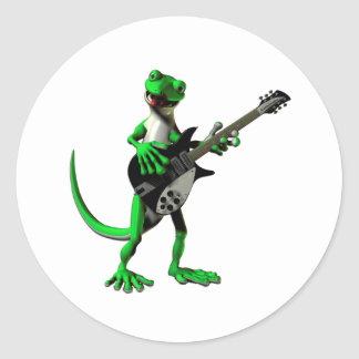 Gecko Electric Guitar Stickers