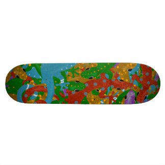 Gecko Mania 20.6 Cm Skateboard Deck