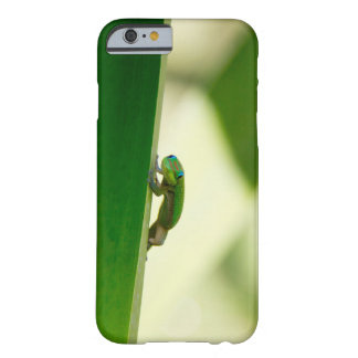 Gecko on Leaf Barely There iPhone 6 Case