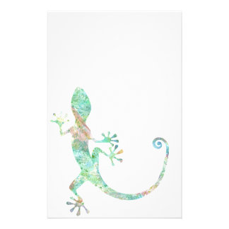 Gecko Personalized Stationery