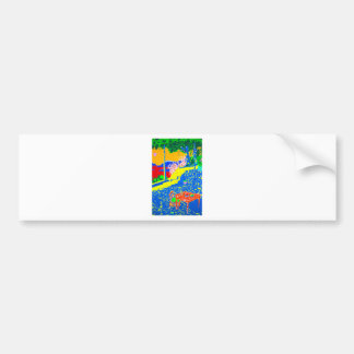 Gecko Table Bumper Sticker