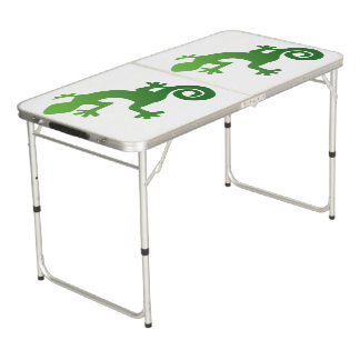 gecko tailgate size beer pong table