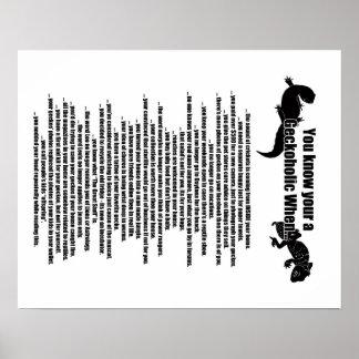 Geckoholic Poster