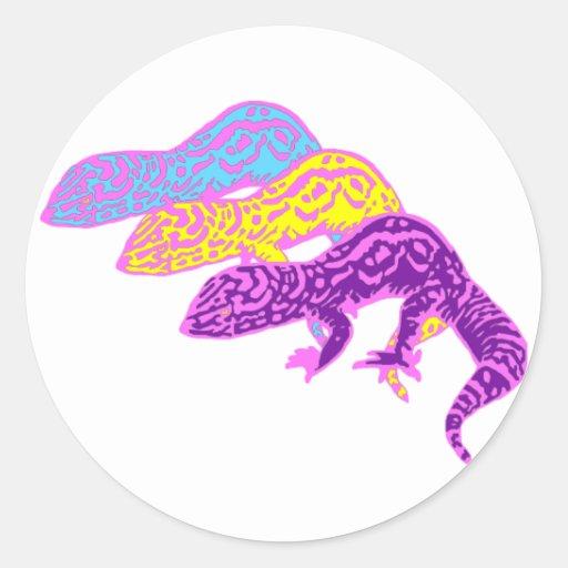 geckos 01 round stickers