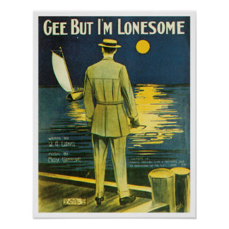 Gee But I'm Lonesome poster