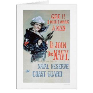 Gee!! I Wish I Were a Man (US02281) Card
