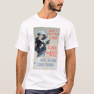 Gee!! I Wish I Were a Man (US02281) T-Shirt