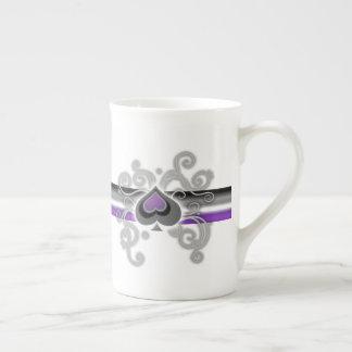 Geebot's ace colour spade logo pride flag fine mug