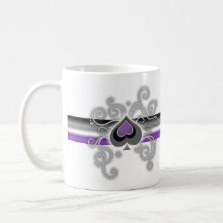 Geebot's aces color ace spade logo pride flag mug