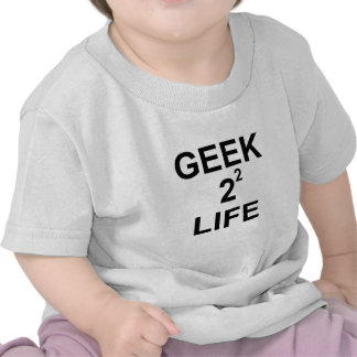 geek2 2 life png tee shirt