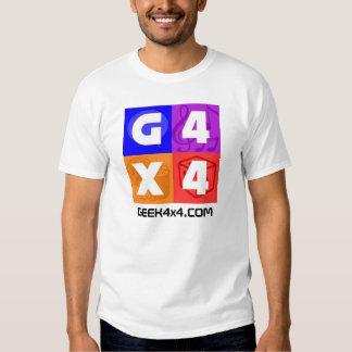 GEEK4x4.COM logo T Shirts