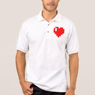 Geek <3 polo shirt