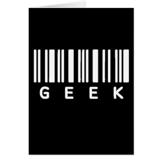 Geek Barcode Card