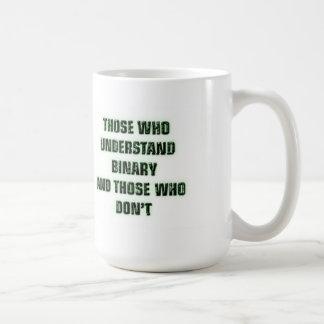 Geek - Binary joke Mugs