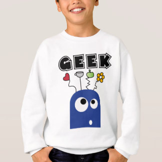 geek blue sweatshirt