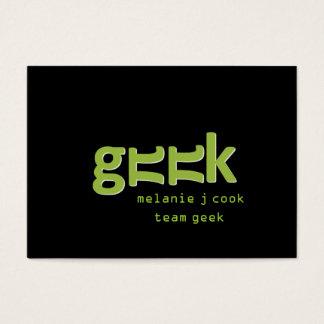 Geek Business Card