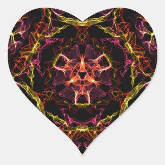 Geek Candy Heart Sticker