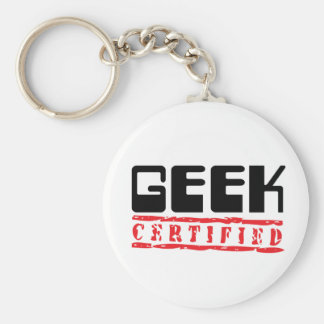 Geek Certified Key Ring