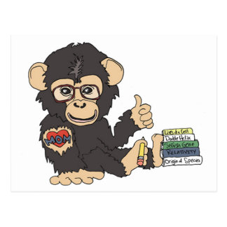Geek Chimp Postcard