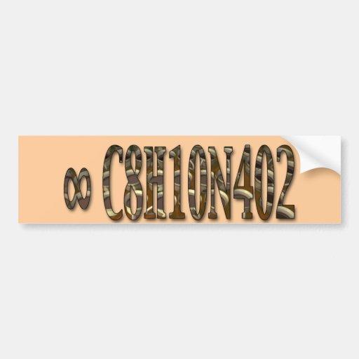 Geek Coffee Bumper Sticker