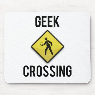 Geek Crossing Mouse Pad