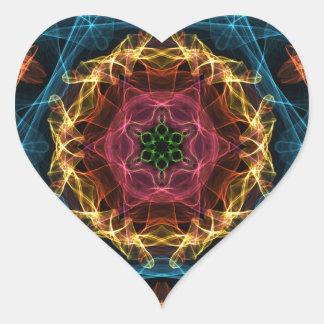 Geek Energy Heart Sticker